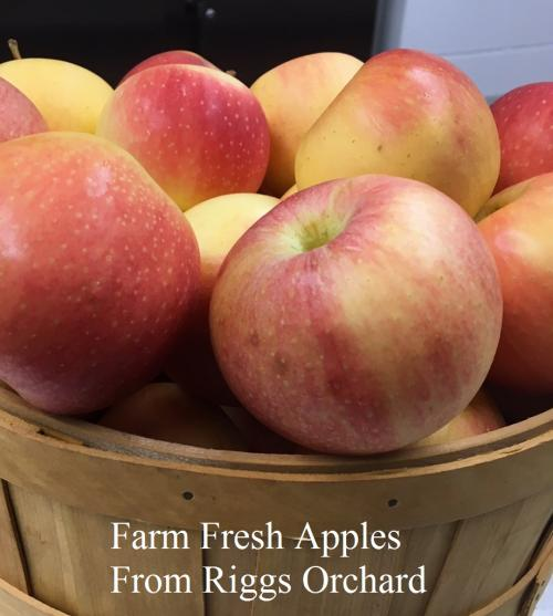 Farm Fresh Apples from Riggs Orchard