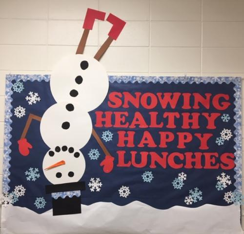 Snowing Healthy Happy Lunches