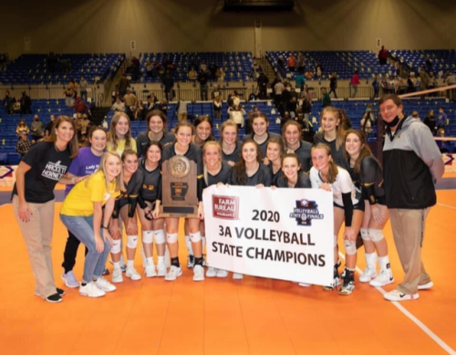 2020 Class 3A Volleyball Champions