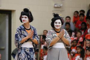 Seniors: Japanese theme