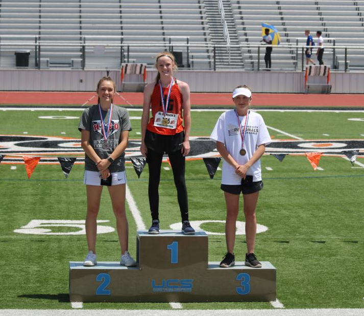 Kenzi Phipps 1st Place High Jump