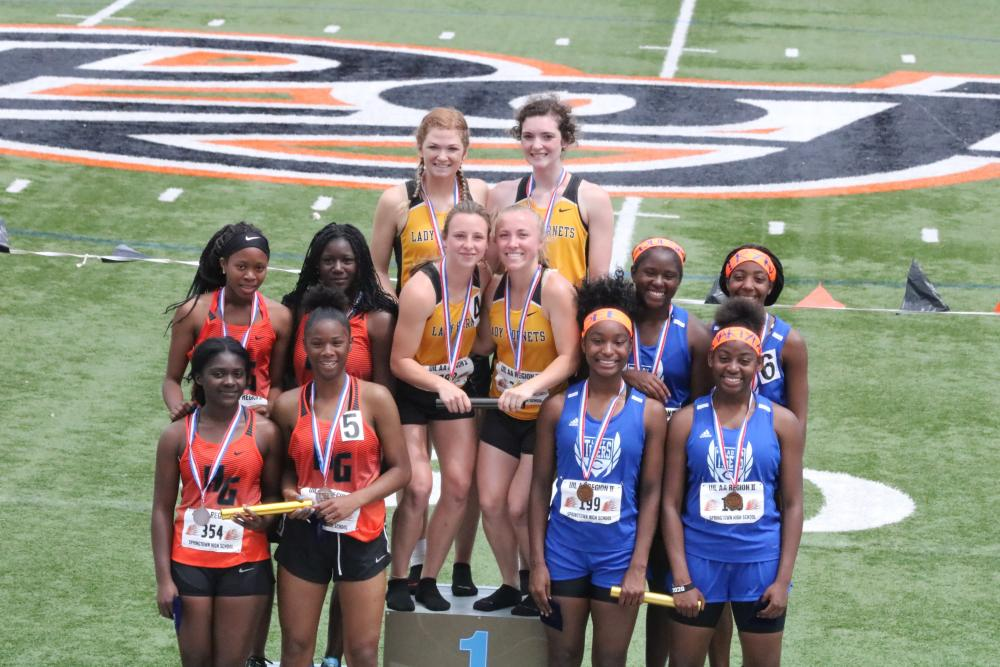 2nd Place Women's 4x100 Relay