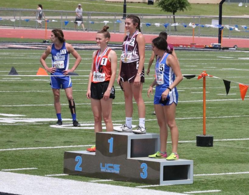 Amelia Butler 2nd Place Women's 800m Run