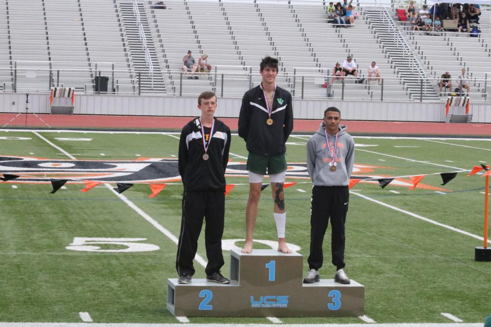 Ta Smith 3rd Place Men's High Jump