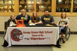 Kenzi Phipps has comitted to Texas A&M University-Commerce...