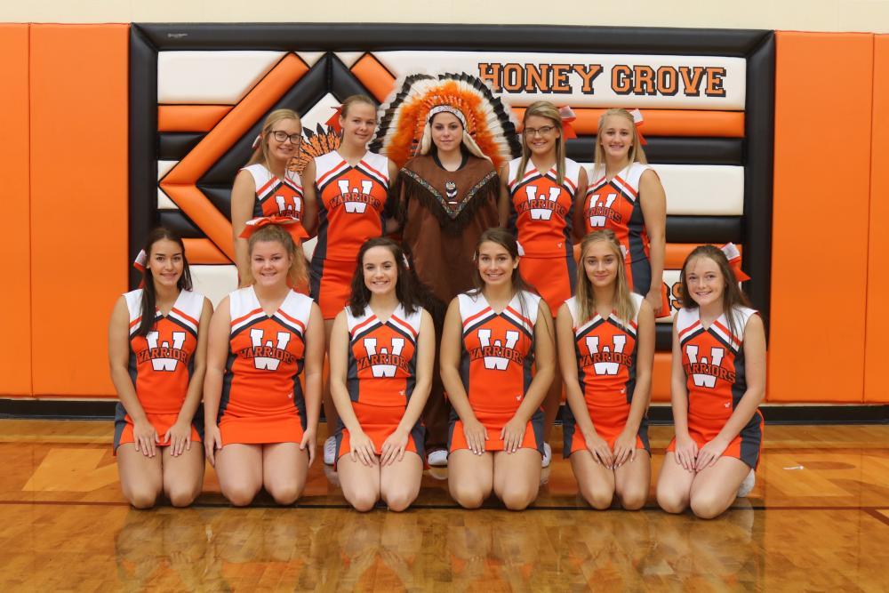 HGHS cheerleaders