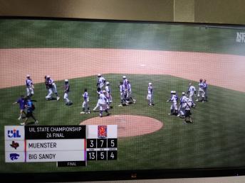 Congratulations Wildcats on 1st State Baseball Championship