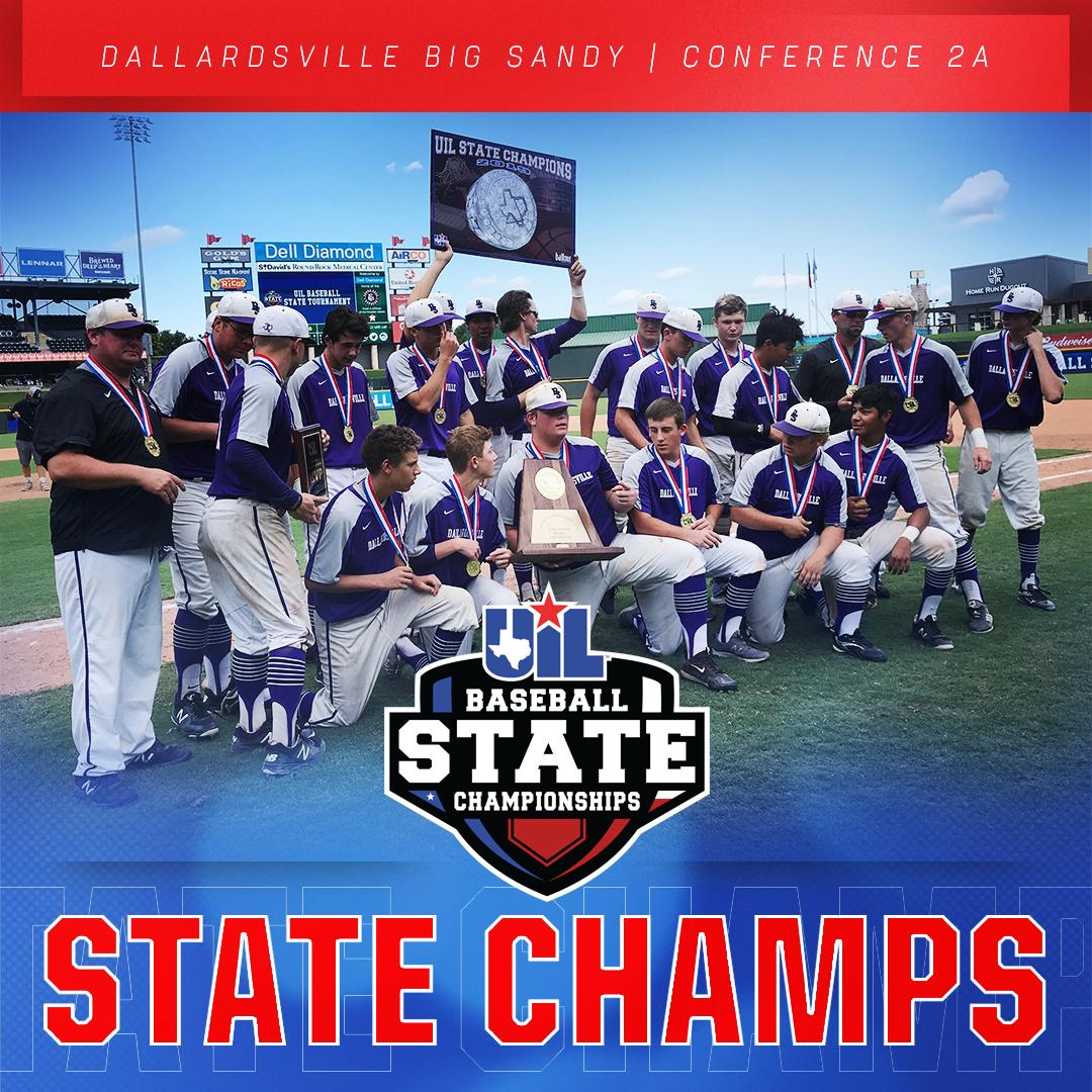 Back-to-Back 2A State Champs!  2018 & 2019