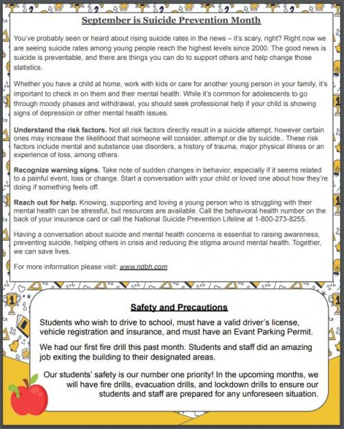 Elk Nation Newsletter; Sept p.2