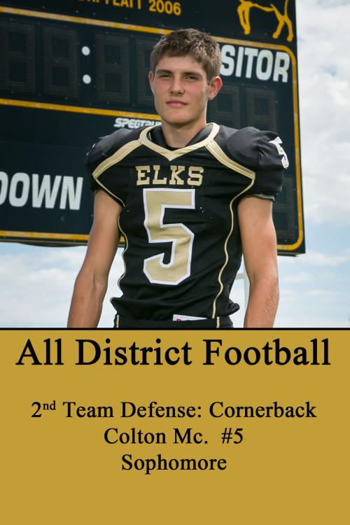 Colton Mc-All District Football