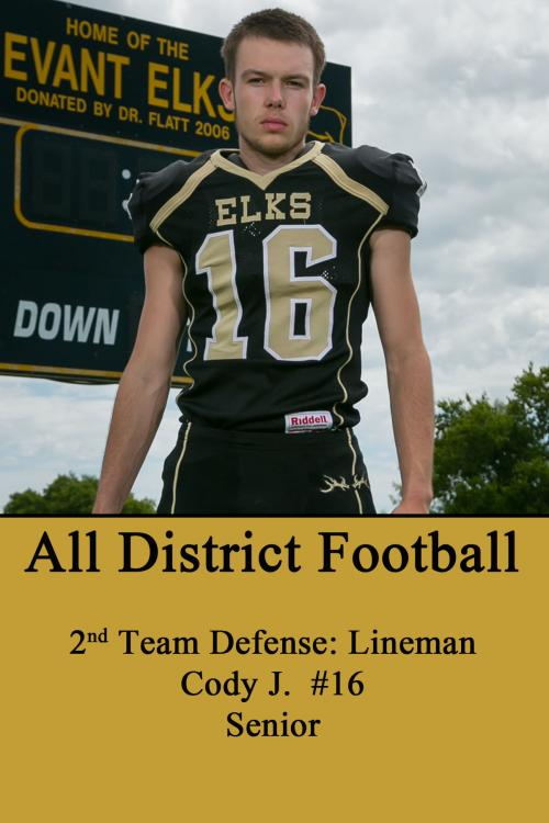 Cody J-All District Football