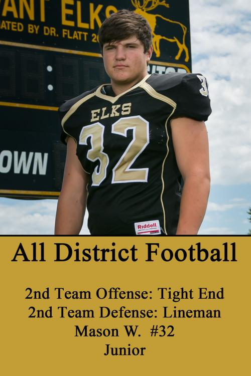 Mason W-All District Football
