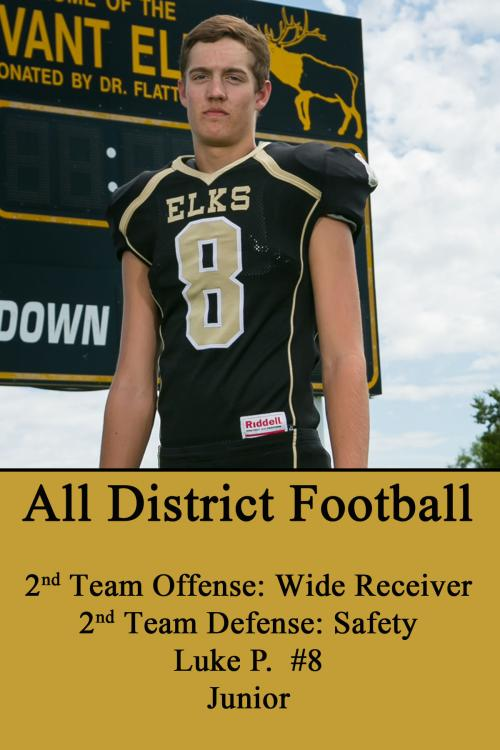 Luke P-All District Football
