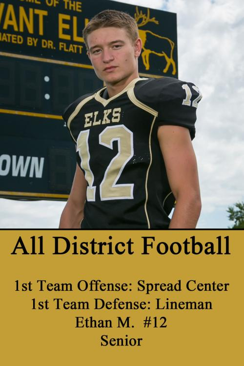 Ethan M-All District Football
