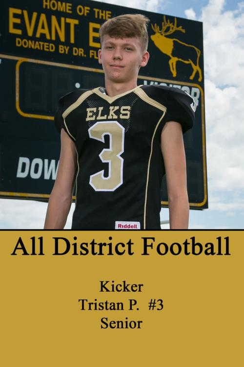 Tristan P-All District Football