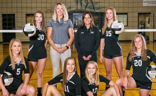 2018-2019 High School Varsity Volleyball image