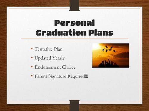 GraduationPlan2020, slide 12