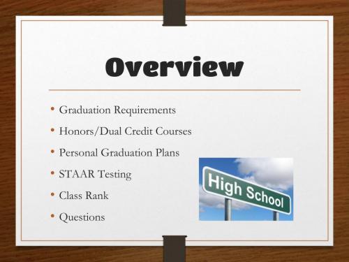 GraduationPlan2020, slide 3