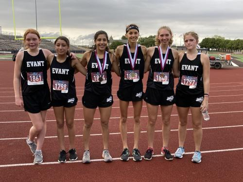 Lady Elks Team photo from Brownwood Meet