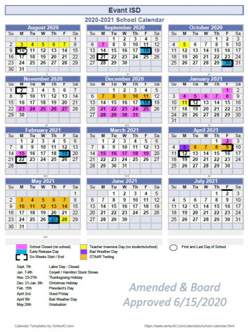 20-21 official calendar Updated 8-20
