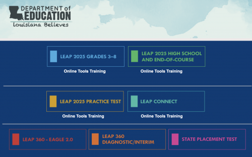 Link to the 2025 LEAP Online Tools Training