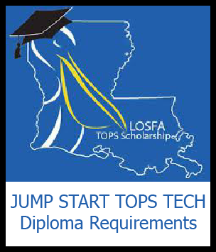 Jump Start TOPS Tech Diploma Requirements