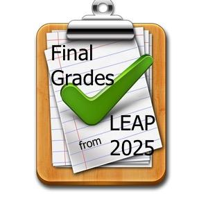 Final Grades and Leap 2025 Icon