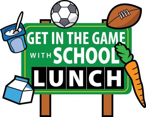 Get in teh Game School lunch