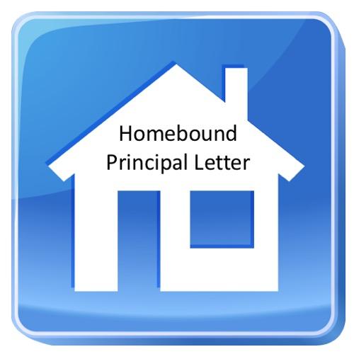 Homebound Principal Letter