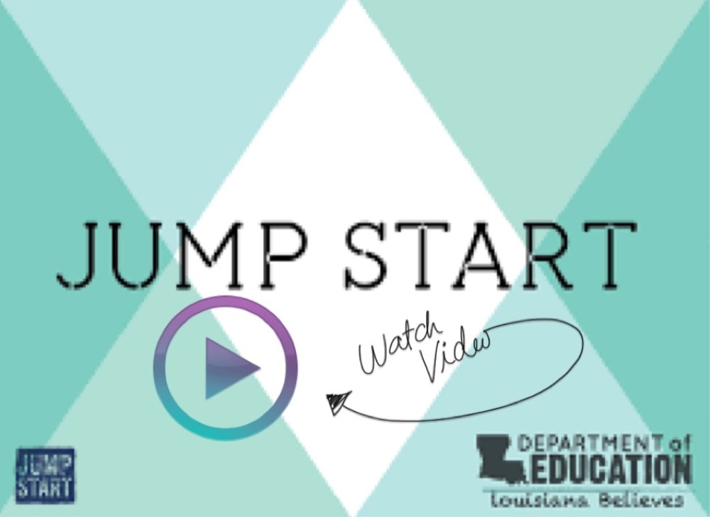 Link to a Vernon Parish Schools video about Jump Start