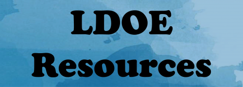 LDOE Resources