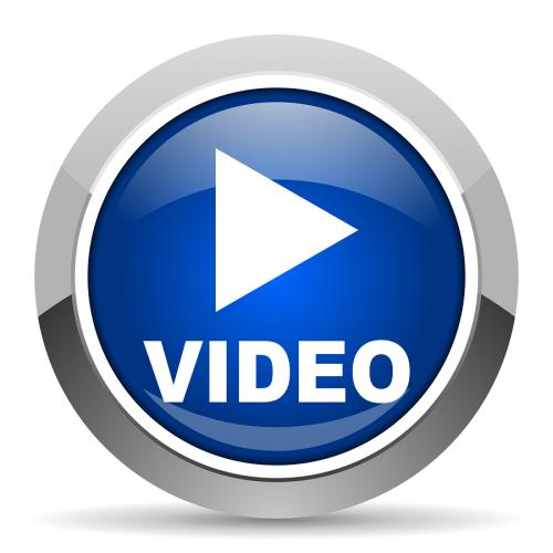 Video Icon Button