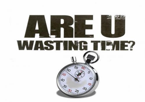 time wasting