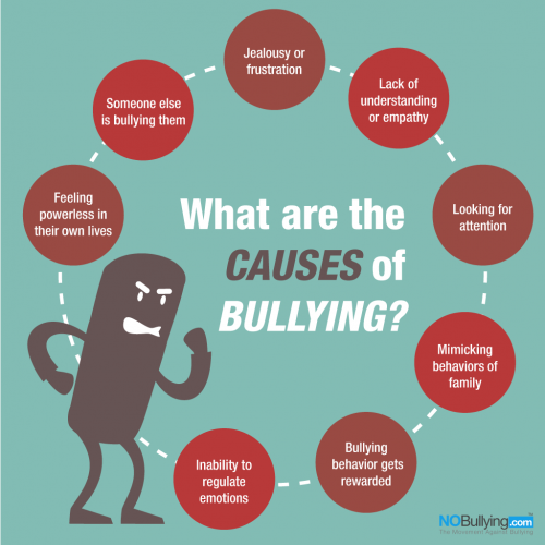 Infographic on bullying