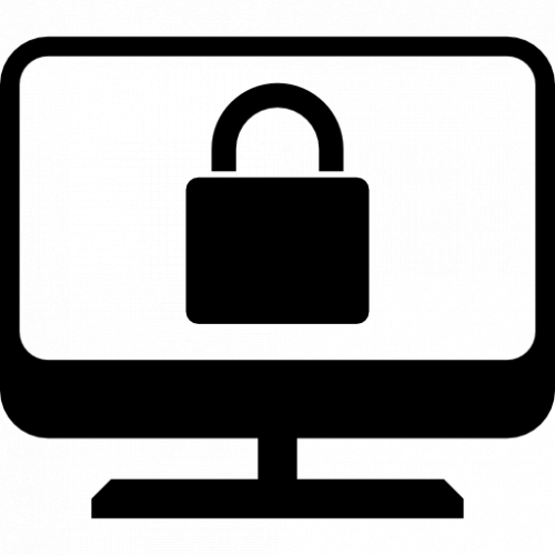 Lock on Computer Screen
