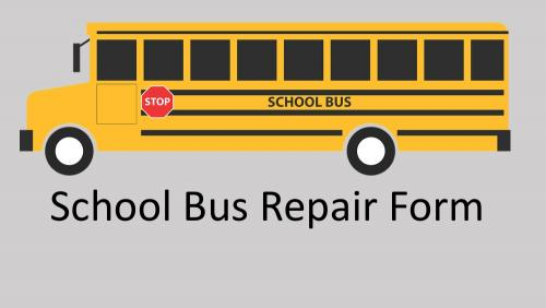 Link to School Bus Repair Form