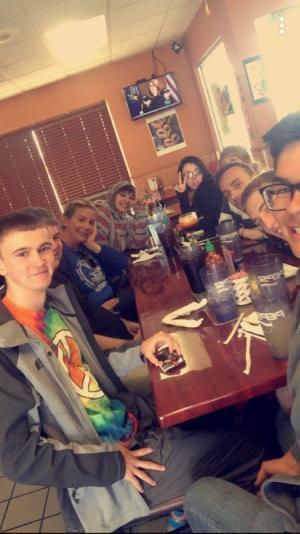 Fun times at Ninja Steak House