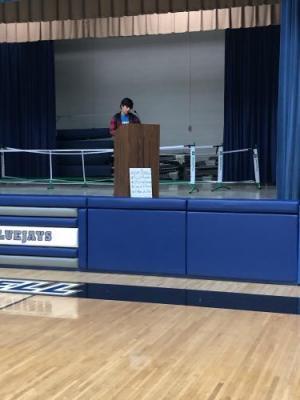 Will Barnes' candidate speech