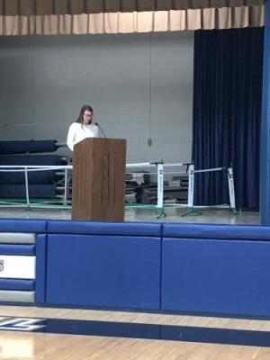 Jenna Sturm's candidate speech