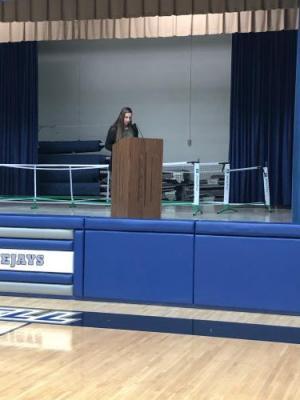 Katrina Dvorak's candidate speech