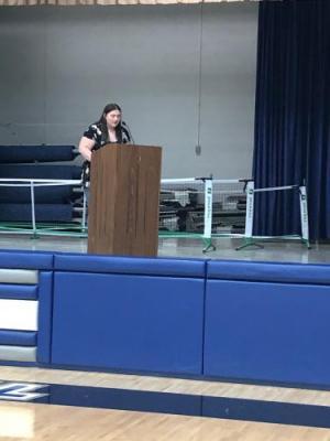 Carley Weir's candidate speech