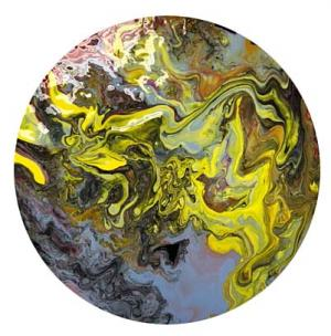 Liquid Acrylic Pour by Lily Little
