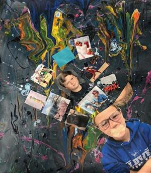 Self Portrait Collage by Lily Little