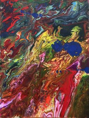 Liquid Acrylic Pour by Mak Blosser