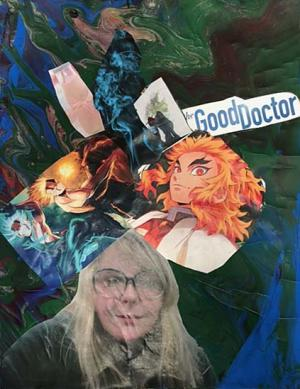 Self Portrait Collage by Raina Jarvis