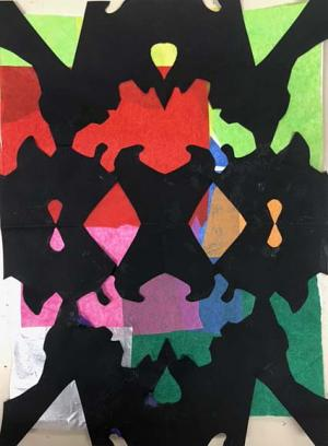 Symmetrical Design Study by Raina Jarvis