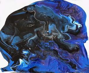 Liquid Acrylic Pour by Kasen Clark