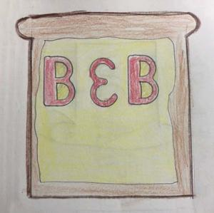 Company Logo for the Bread and Butter Cafe by Robert Willard