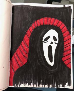 Sketchbook image by Debbie Halbert