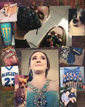 Self Portrait Collage by Priscilla Fox-Rauch